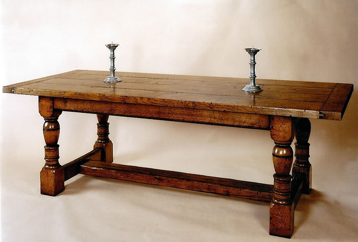 IT1 Refectory Dining Table