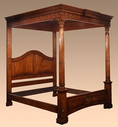 BD5 Carved Tester Bed