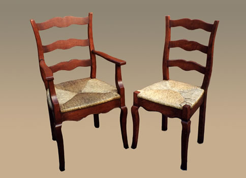 OC25 Provence Cabriole Leg Chairs