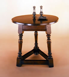 SOF9 Round Miniature Cricket Table