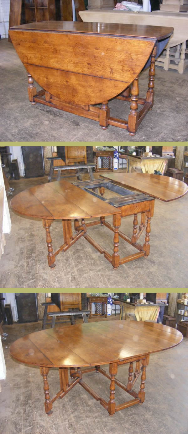 SC10815 Extending Gate Leg Table
