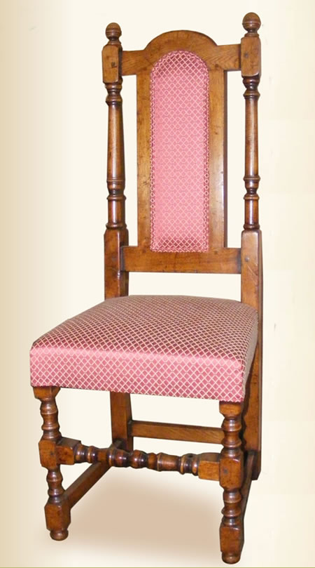 SC10823 Regal Chair with Upholstered Back