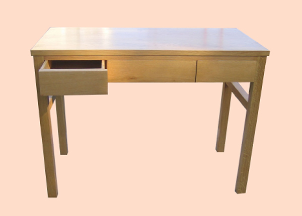 SC7033 Contemporary Oak Dressing Table