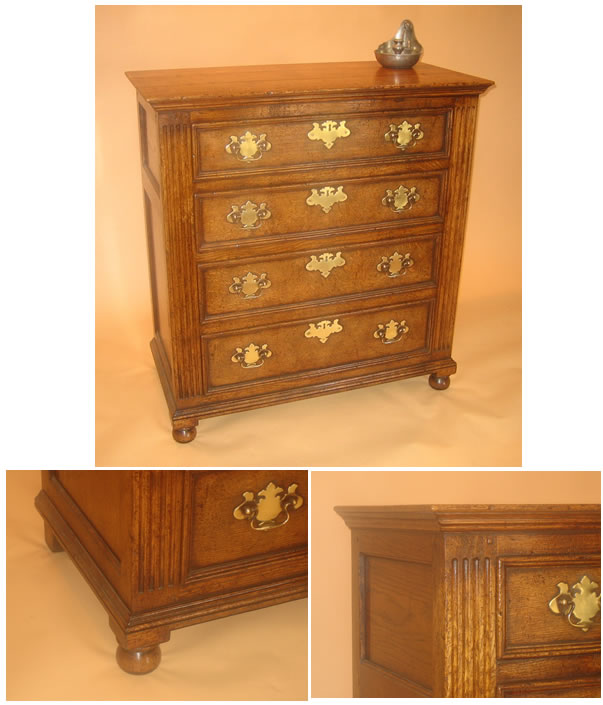 SC9354 4-Drawer Chest of Drawers