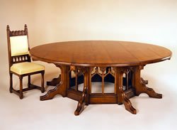 OT24 Dining Table – Gothic Pugin Design